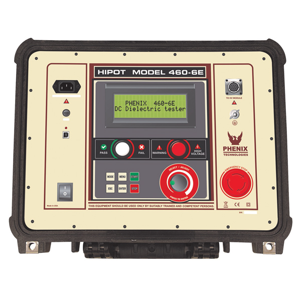Portable DC high voltage test equipment